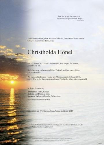 Christholda Hönel