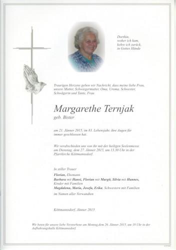 Margarethe Ternjak