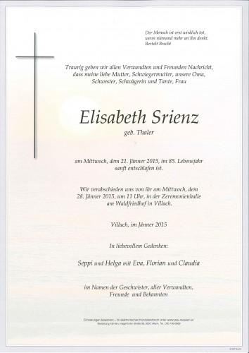 Elisabeth Srienz