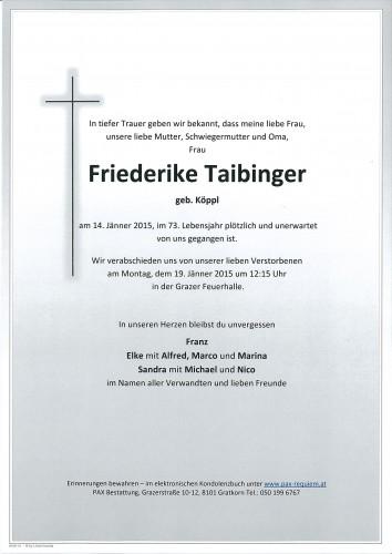 Friederike Taibinger
