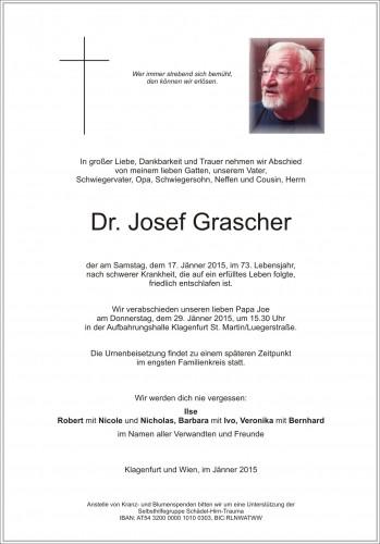 Dr. Josef Grascher