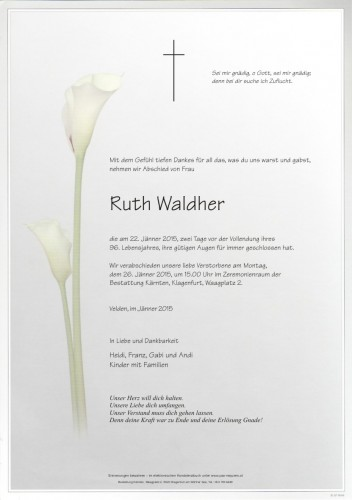 Ruth Waldher