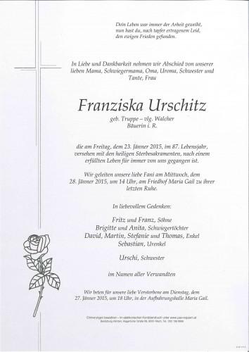 Franziska Urschitz
