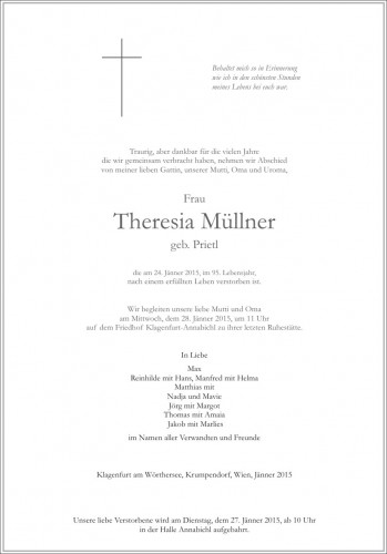 Theresia Müllner