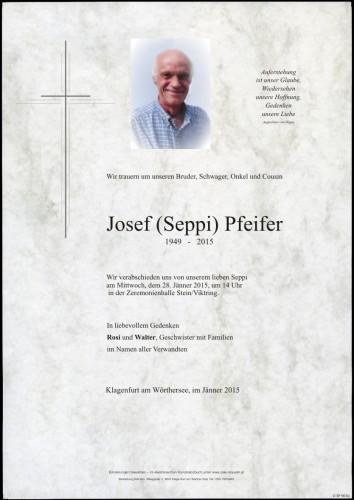 Josef Pfeifer