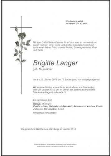 Brigitte Langer