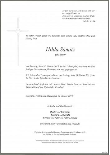 Hilda Samitz