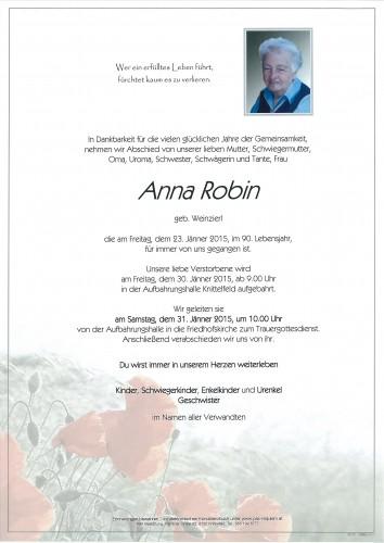 Anna Robin