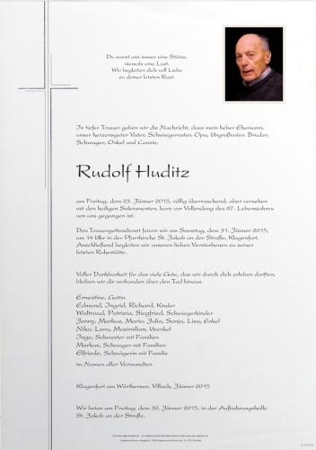Rudolf Huditz