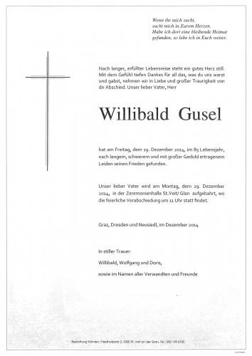 Willibald Gusel