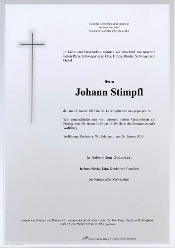 Johann Stimpfl