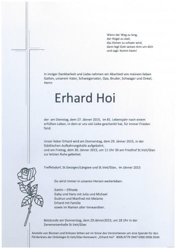 Erhard Hoi