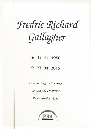 Fredric Richard Gallagher