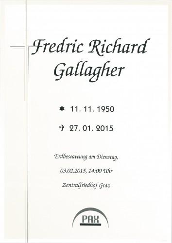 Fredric Richard Gallagher