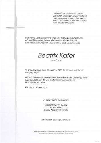 Beatrix Käfer geb. Probst