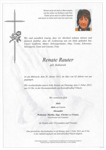 Renate Rauter
