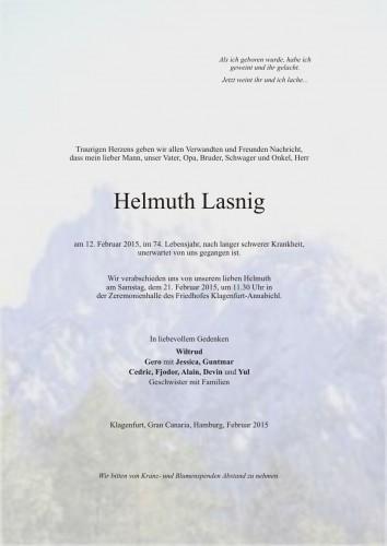 Helmuth Lasnig