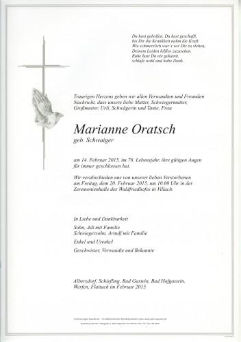 Marianne Oratsch