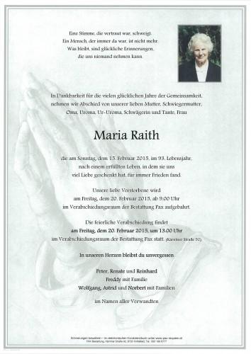 Maria Raith