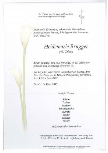 Heidemarie Brugger