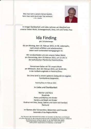Ida Finding