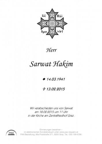 Sarwat Hakim