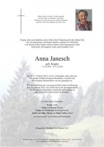 Anna Janesch