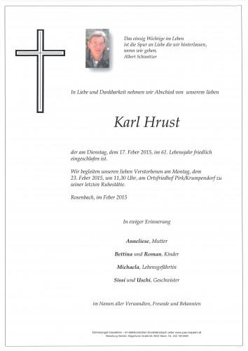 Karl Hrust
