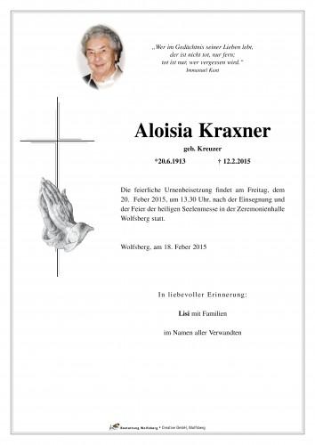 Aloisia Kraxner