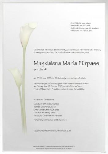 Magdalena Maria Fürpass