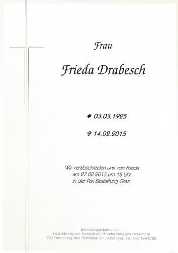 Frieda Drabesch