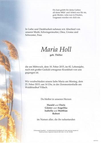 Maria Holl