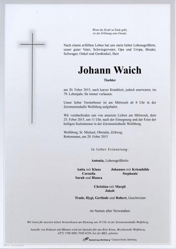 Johann Waich