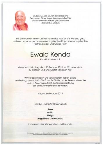 Ewald Kenda