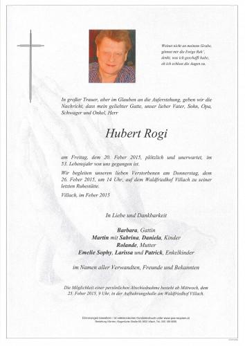 Hubert Rogi