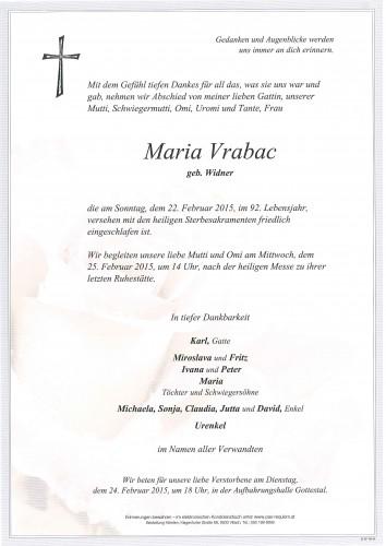 Maria Vrabac