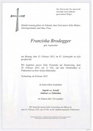 Franziska Brodegger