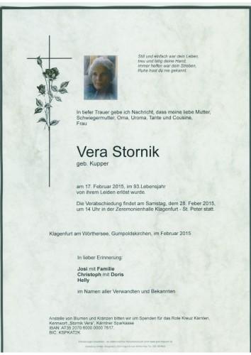 Vera Stornik