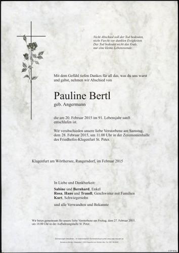 Pauline Bertl