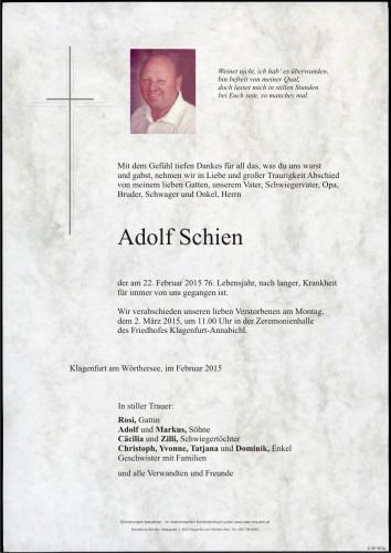 Adolf Schien