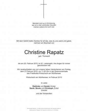 Christine Rapatz