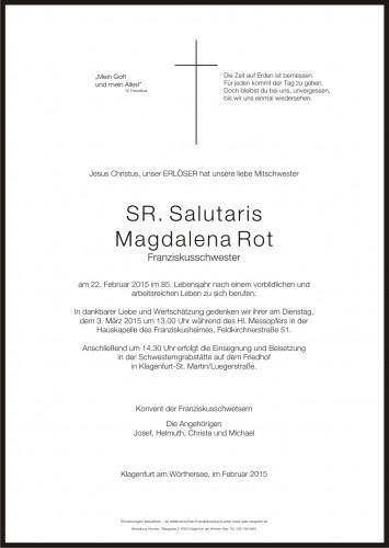 Sr. Salutaris Magdalena Rot