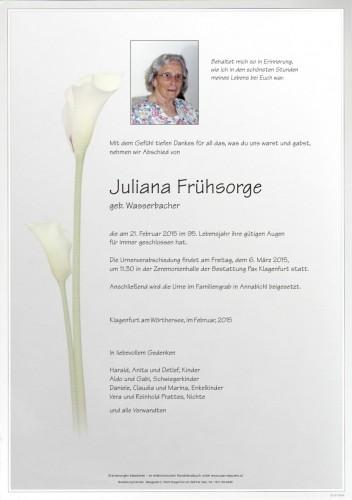 Juliana Frühsorge