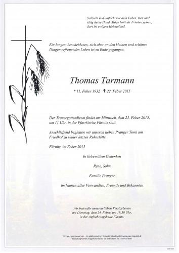 Thomas Tarmann