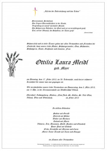 Ottilia Laura Meidl