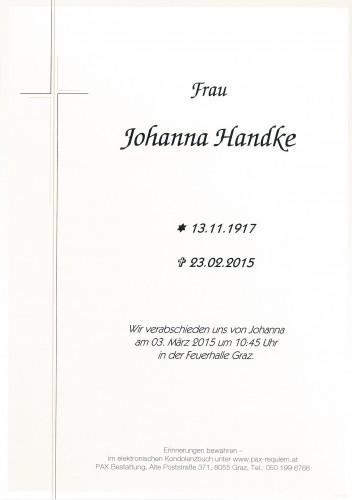 Johanna Handke