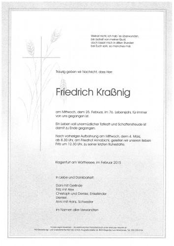 Friedrich Kraßnig