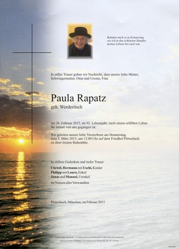 Paula Rapatz
