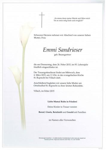 Emmi Sandrieser