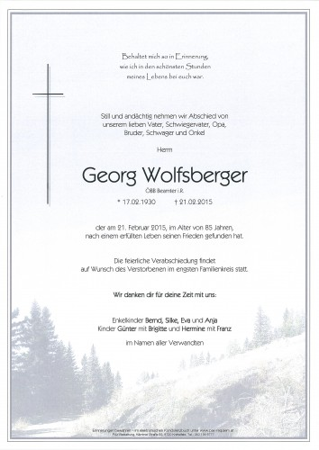 Georg Wolfsberger